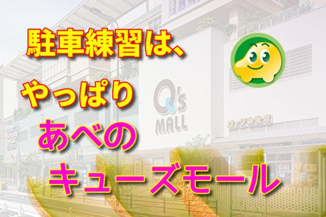 大阪ペーパードライバー講習の駐車練習はあべのキューズモール ...
